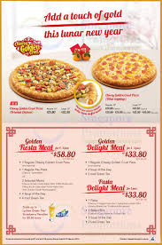 100 Golden Crust Cheesy Dine In Offers Fiesta Meal