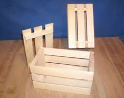10wooden Crate With Lid Wooden Gift Wood