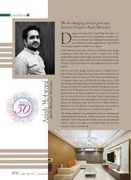 100 Interior Designers And Architects Anish Motwani Associates Mumbai India