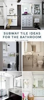 Subway Tile Bathrooms To Love - My Style Vita Subway Tile Bathroom Designs Tiled Showers Pictures Restroom Wall 33 Chic Tiles Ideas For Bathrooms Digs Image Result For Greige Bathroom Ideas Awesome Rhpinterestcom Diy Beautiful Best Stalling In Rhznengtop Tile Design Hgtv Dream Home Floor Shower Apartment Therapy To Love My Style Vita Outstanding White 10 Best 2018 Top Rockcut Blues Design Blue Glass Your