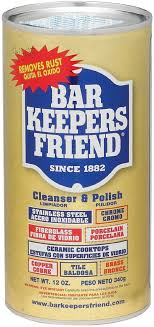 Bar Keepers Friend B88277 Bar Keepers Cleanser & Polish With ... Bar Keepers Friend 11584 Cleansers Ace Hdware Sandys2cents Cleaning Products Everything You Wanted To Know About How Clean Stove Drip Pans Amazoncom Cookware Cleanser Polish Powder I Test Out And 12 Ounce Walmartcom 595g 25 Unique Keepers Friend Ideas On Pinterest Glass Will Store Vintage Pyrex Its Natural Use Stainless Steel Pizza Pan 11727 Oz All Purpose Spray Foam Cleaner