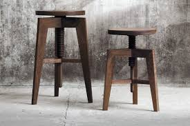Unusual Design Double Bar Stool Bench The Dining Room Barstool Houzz Intended For Decor