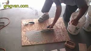 learn how to apply ceramic tile adhesive