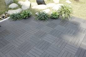 Kon Tiki Wood Deck Tiles by Composite Deck Tiles Premier Comfort Heating