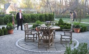Pea Gravel Patio Ideas by Sheep U0027s Run Traditional Patio New York By Susan Cohan Apld