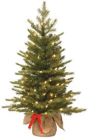 National Tree Company 3 Ft Pre Lit Artificial Nordic Spruce