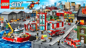 100 Lego Fire Truck Games LEGO Police Car Videos Game My City 2 NEW Airport