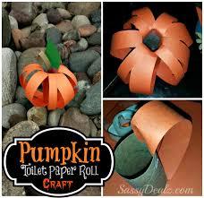 Halloween Ideas For Pumpkins by Pumpkin Toilet Paper Roll Craft For Kids Halloween Idea Crafty