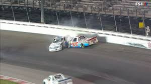 100 Arca Trucks NASCAR Crashes From ARCA Gateway And Cup Sonoma 6