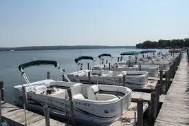 Crest Pontoon Captains Chair by Boat Rentals U2013 We Wan Chu Cottages Chautauqua Lake U0027s Finest