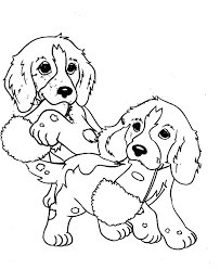 Cat Dog Coloring Pages Free Cute And Printable Colorings Book Design Ideas Full Size