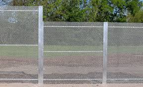 The Drawing Of Anti Climb Fence Installation Including Amiguard System Amico Security Products