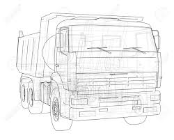 Dump Truck Outline Illustration. Royalty Free Cliparts, Vectors, And ... Simple Outline Trucks Icons Vector Download Free Art Stock Phostock Garbage Truck Icon Illustration Of Truck Outline Icon Kchungtw 120047288 Dump Royalty Image Semi On White Background F150 Crew Cab Aliceme Isometric Idigme Drawing 14 Fire Rcuedeskme Lorry Line Logo Linear