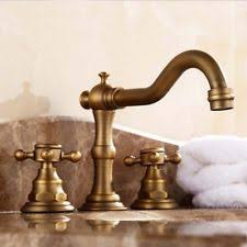 Unlacquered Brass Bathroom Faucet by Antique Brass Faucet Ebay