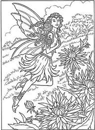 Fairy Coloring Pages For Adults Printable Kids Colouring Free Tale