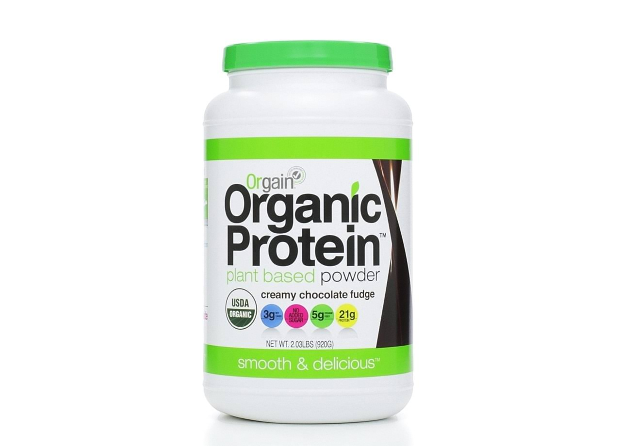 Orgain Organic Protein Plant-Based Powder Supplement - Creamy Chocolate Fudge, 0.9kg