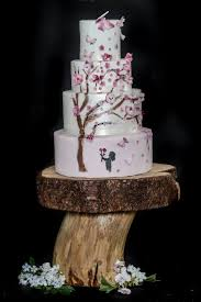 Rustic Cake Stand Available To Hire From Wooden Treats