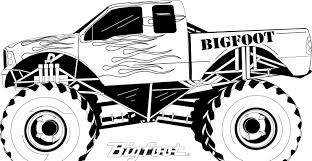 Monster Truck Color Pages Billbengen 1572244