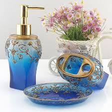 Royal Blue Bathroom Accessories by Aliexpress Com Buy Classic European Royal Bathroom Set Accessory
