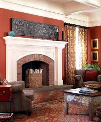 Paint Colors Living Room Red Brick Fireplace by 41 Best Fireplaces Images On Pinterest Fireplace Ideas