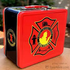 100 Fire Truck Lunch Box Fighter Box Boxcom
