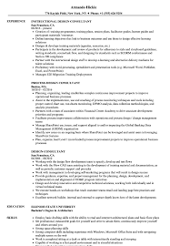 Download Design Consultant Resume Sample As Image File