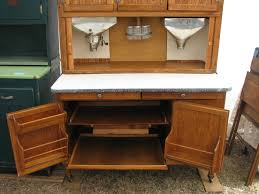 What Is A Hoosier Cabinet Worth by Interior Of Our 1925 1928 Hoosier Highboy Cabinet With Flour