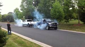 Cummins Vs. 6.0 Powerstroke Tug Of War