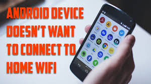 Why won t my android phone connect to Wifi