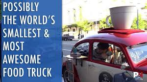 This Might Be The World's Smallest Food Truck - YouTube