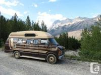 For Sale Bull 1980 Dodge Camper Van 200