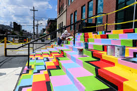 join me for a walking tour of the new spring arts mural district