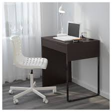 Black Writing Desk And Chair by Micke Desk Black Brown Ikea