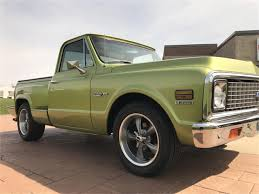 1972 Chevy C-10 Stepside For Sale | ClassicCars.com | CC-982185 1972 Chevy K20 Pick Up 4x4 Dealer Keeping The Classic Pickup Look Alive With This 1968 Trucks For Sale Truck Chevrolet Suburban K5 Blazer For Sale 84525 Mcg C10 Pickups Panels Vans Original Pinterest Black Betty Photo Image Gallery Stepside Short Bed Up Cst Longbed Frame Off Restoration No Dents Hemmings Find Of Day Cheyenne P Daily 1971 Chevy Pickup Custom 10 Orange 350 Motor