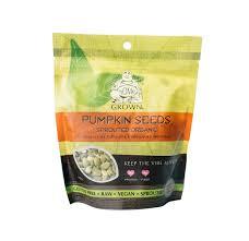 Organic Pumpkin Seeds Bulk by Sprouted Pumpkin Seeds Milagro Living