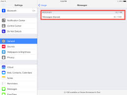 Delete Saved iMessages caches on iPhone and Free Storage