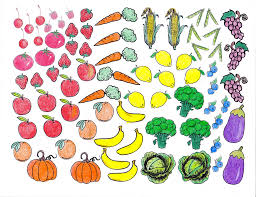 Free Printable Coloring Pages Fruits And Vegetables