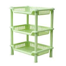 line Shop 1 Piece Holder Organizer Blue Green Plastic Storage
