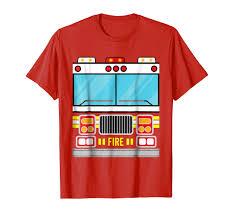 100 Fire Truck Halloween Costume Amazoncom Shirt Clothing