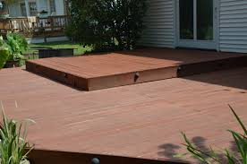 Cabot Semi Solid Deck Stain Drying Time by Clean And Stain A Deck Stevescape