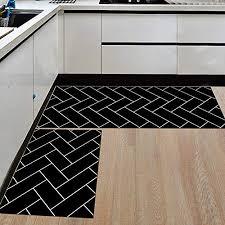 ommda küchen teppiche läufer muster der geometrie 3d