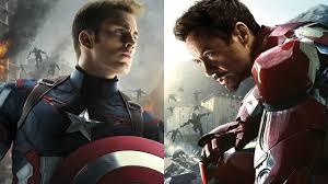 Captain America And Iron Man Marvel Studios