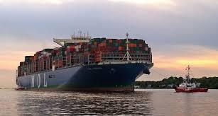 le mol triumph l un des plus gros porte conteneurs au monde en
