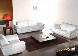 Decoro White Leather Sofa by Alluring White Sofa Set With Sofa Sets White Leather Sofa Alley