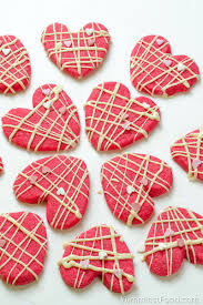 Decorated Shortbread Cookies by Valentine Shortbread Cookies Recipe From Yummiest Food Cookbook