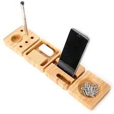 4pcs set Creative Wooden Stationery Desk Set School Supplies Desk