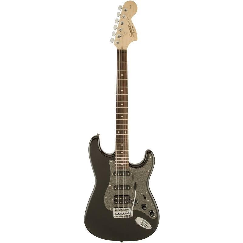 Squier Affinity Stratocaster HSS, Montego Black Metallic