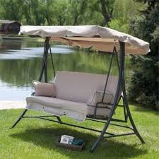 Patio Swings With Canopy Replacement by Outdoor Swing Replacement Cushions And Canopy For The Home
