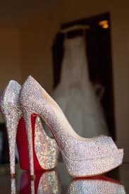 Wedding Shoes High Heels Worn by Real Brides Inside Weddings