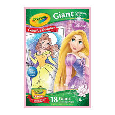 Crayola Giant Coloring Pages Disney Princess Cinderella 24